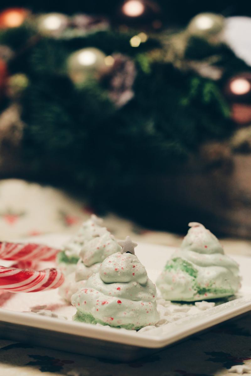 Kerstboom Meringues