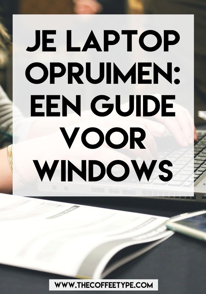 Je laptop opruimen: dat doe je zo! | Al tijden uitgesteld, maar loopt je laptop nu echt te vol? Met deze guide voor WIndows laptops krijg je je laptop weer helemaal schoon!